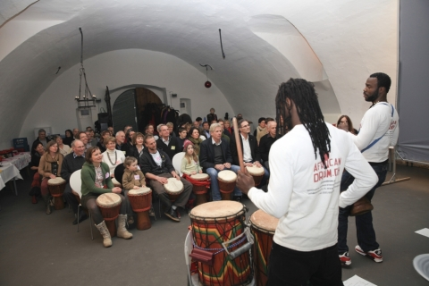 Geburtstagsfeier in Rheineck
